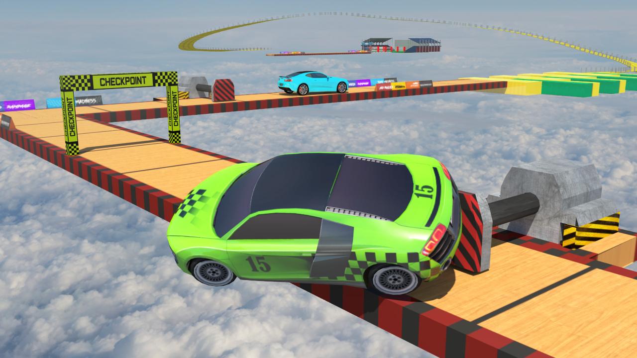 Ramp Car Stunts Free Mega Ramp