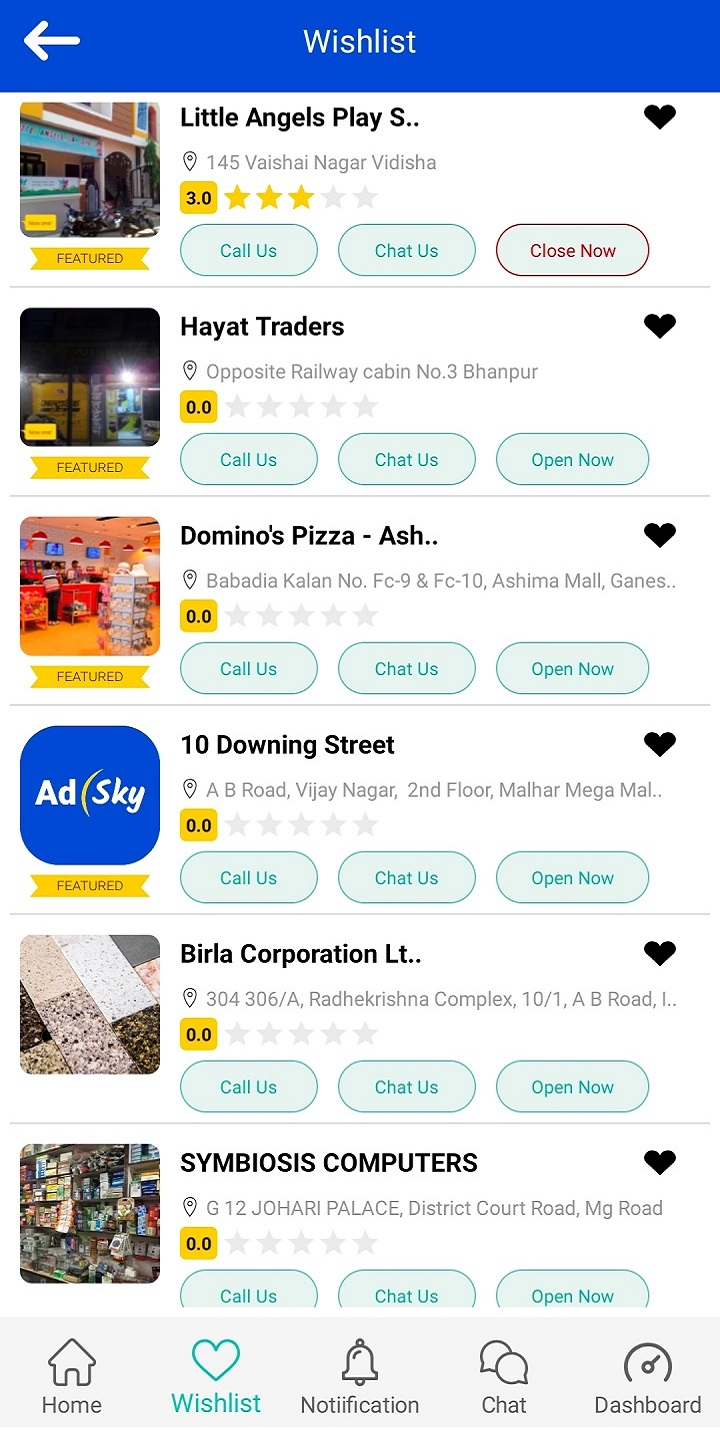 AdSky- App for Free advertise your Business Easily