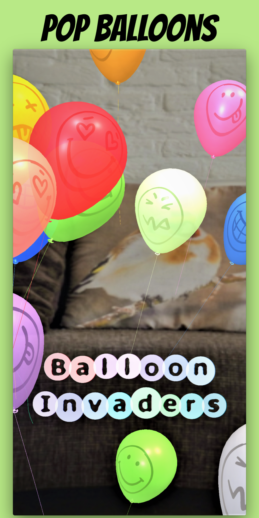 Balloon Invaders: Pop Balloons in AR