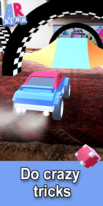 Carpet Drift: AR Multiplayer Racing