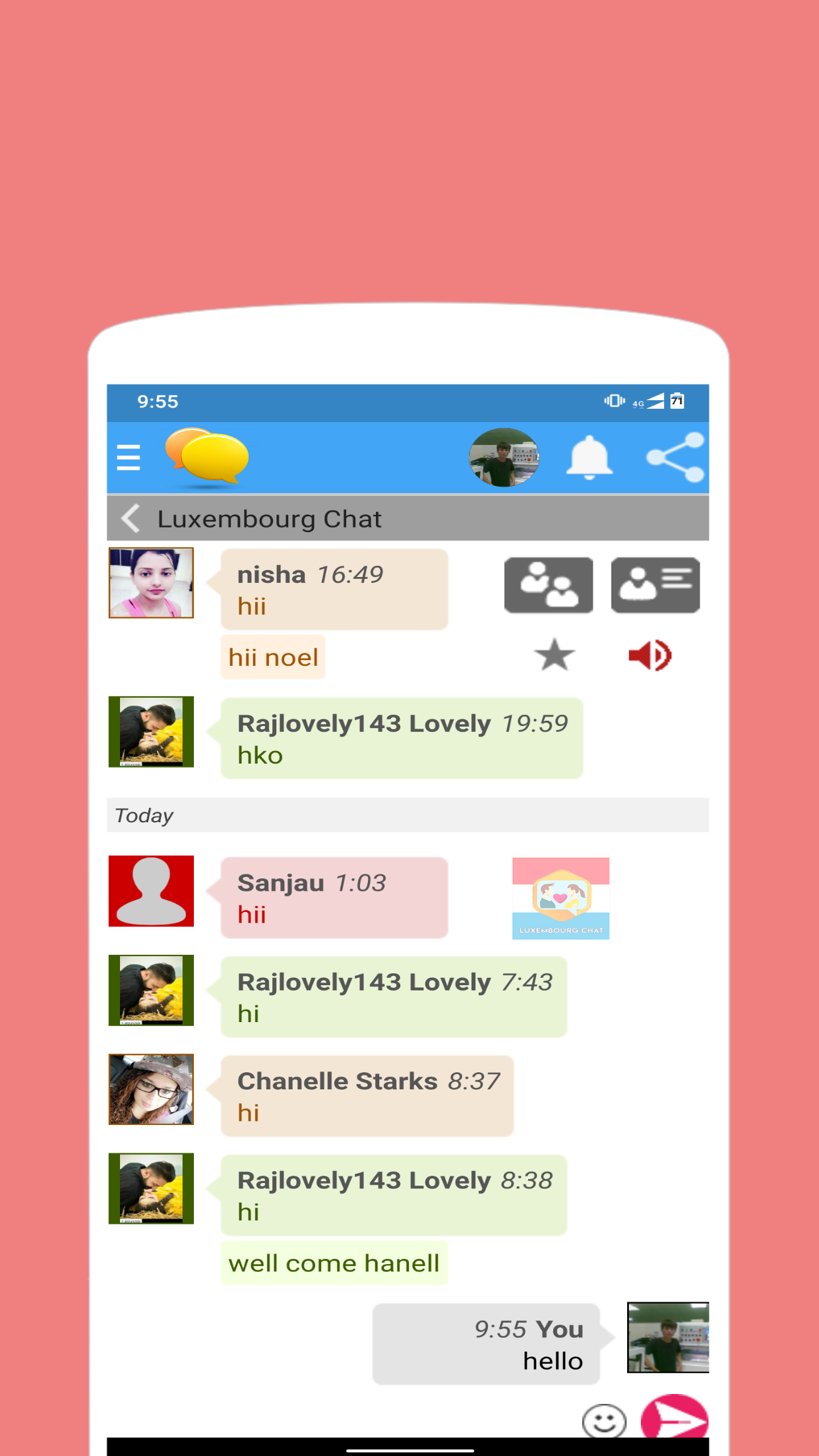 Free chat room - Find Friends