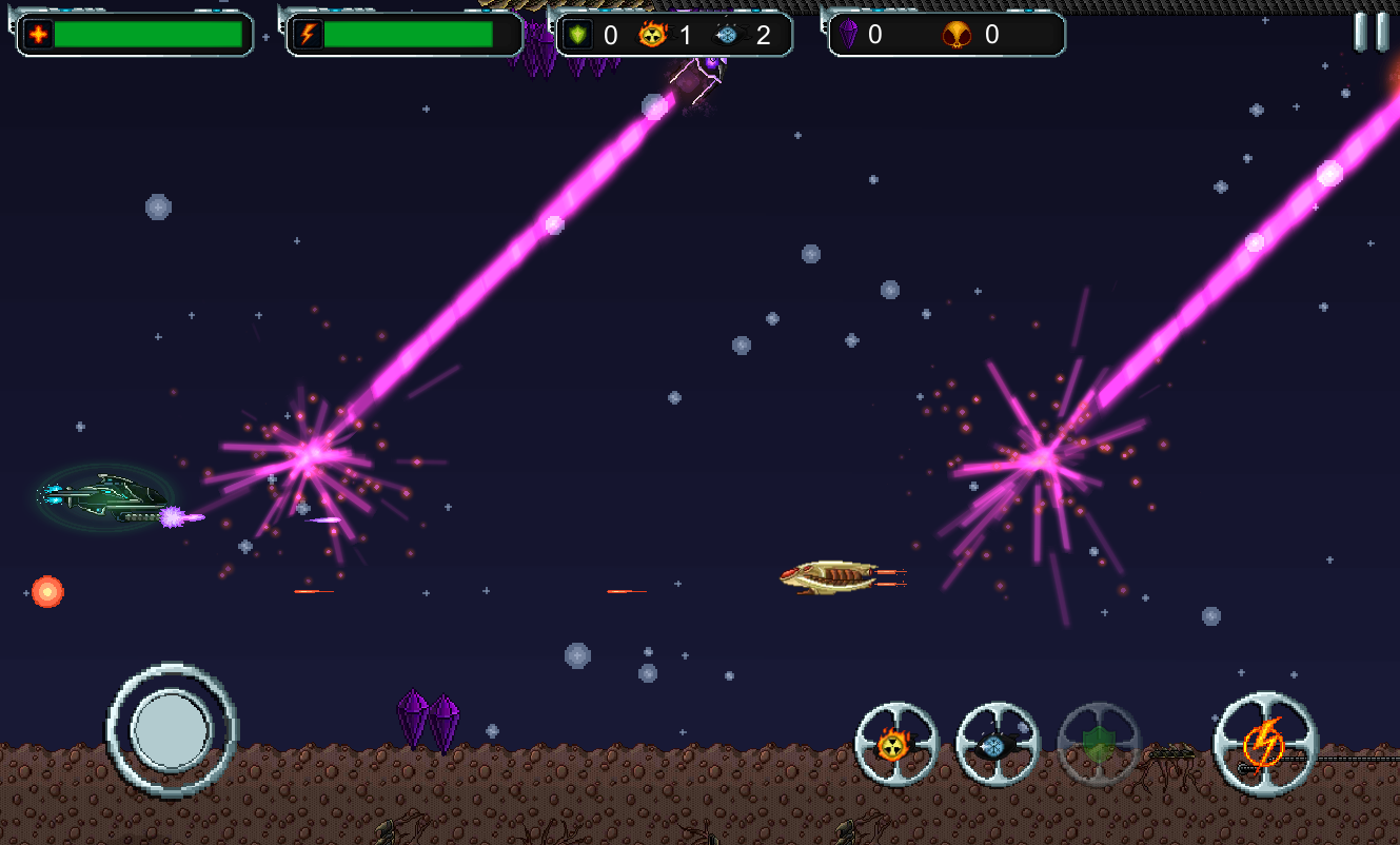 OFTE - Retro Space Shooter