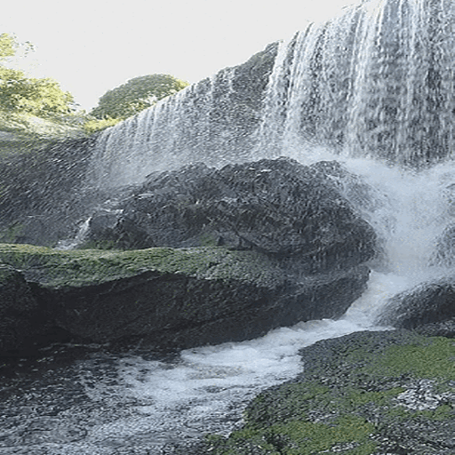 Summer Waterfall Live Wallpaper