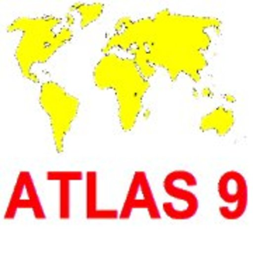 ATLAS9 Topography trainer / World map quiz