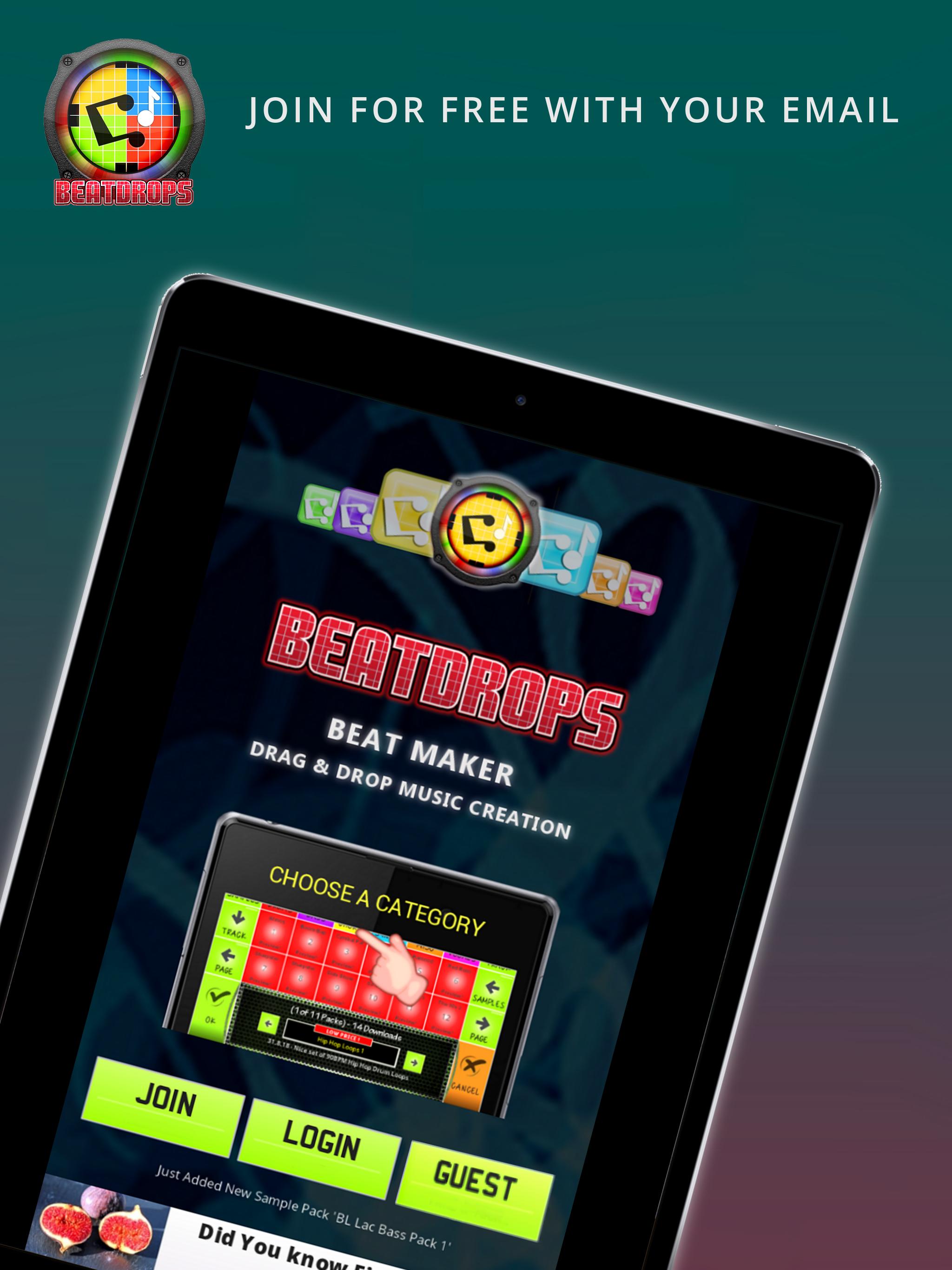BeatDrops Beat Maker
