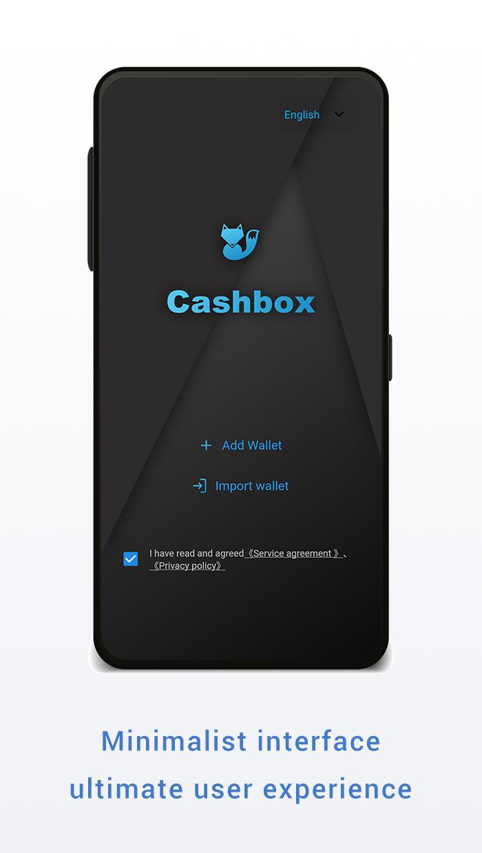 Cashbox — Blockchain Wallet, Ethereum, DApp, Crypto