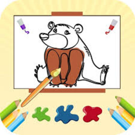 Coloring Book Fun Doodle Games - Color Pages Apps