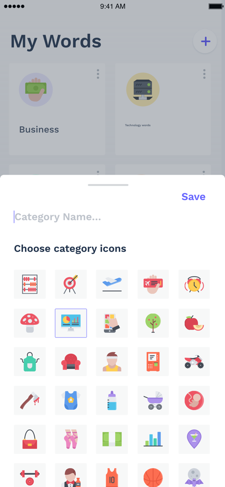 Kalimaty - Create Your Own Dictionary