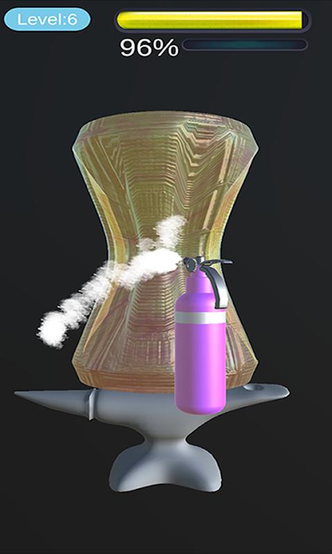 Satisfying Glass Blowing Game! ASMR Blower Art 3D