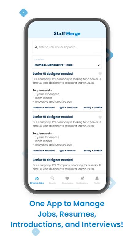 StaffMerge - Connect. Merge. Work