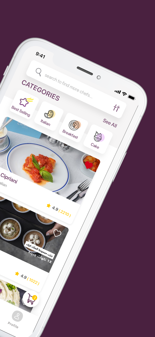 The Chefz- Best food delivery app