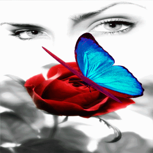 Butterfly Eyes Live Wallpaper