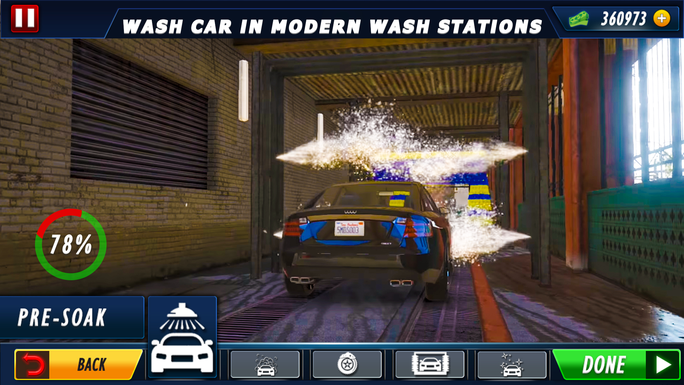 Car Parking Rush-Car Wash repairing & Gas station