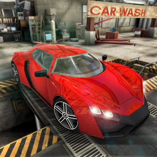 Car Parking Rush-Car Wash repairing & Gas station