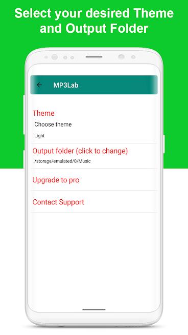Mp3Lab - Audio Video to MP3 Converter MP3 Tagger