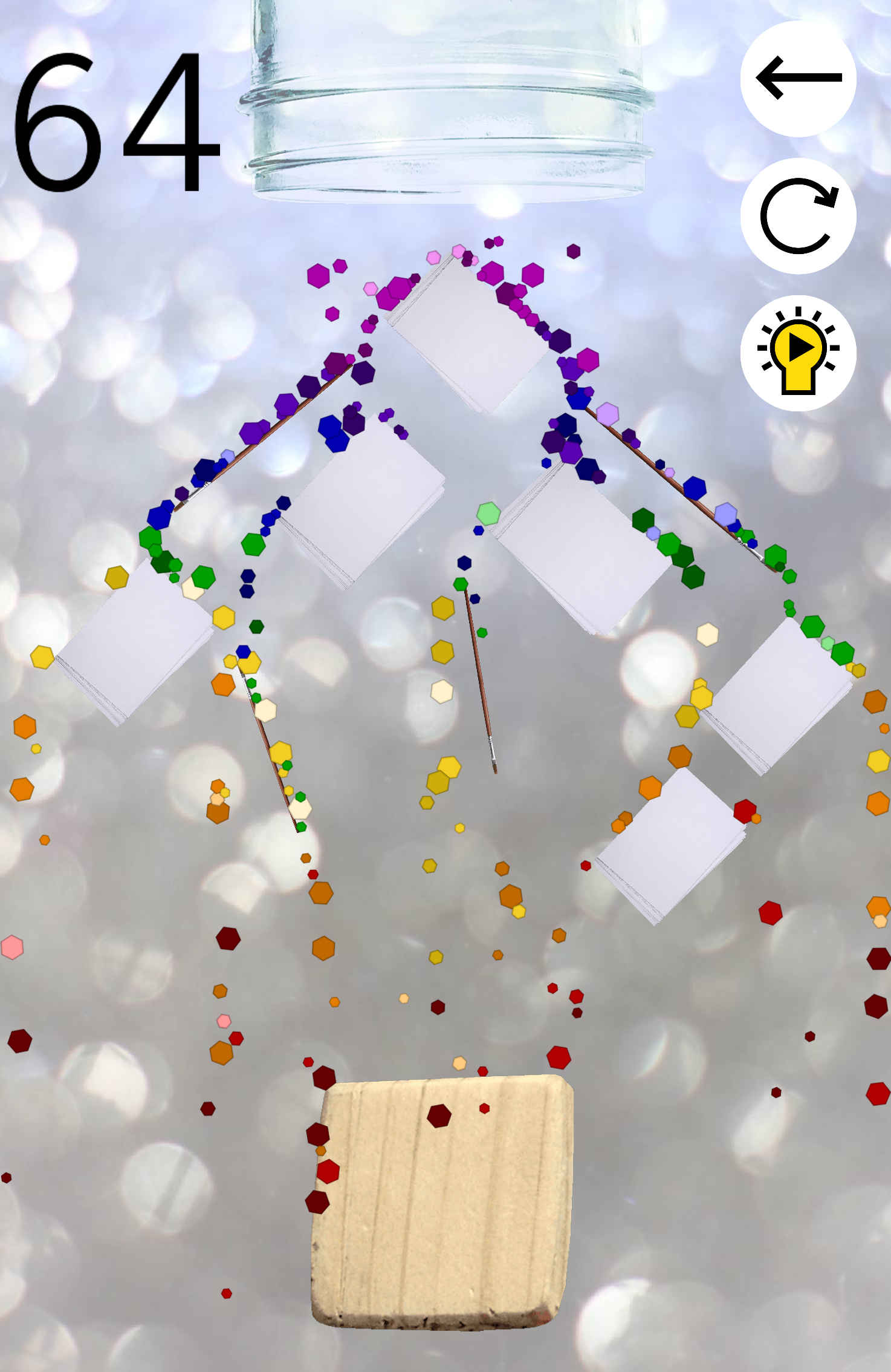 Pepper'd - Physics Puzzle Game