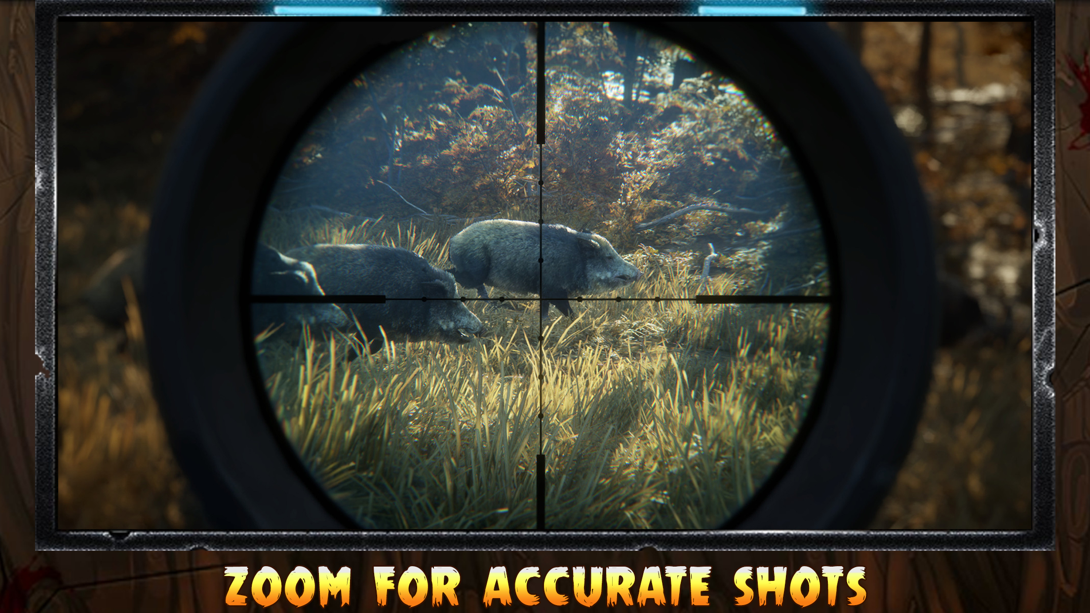 Pig Hunting Shooting Game