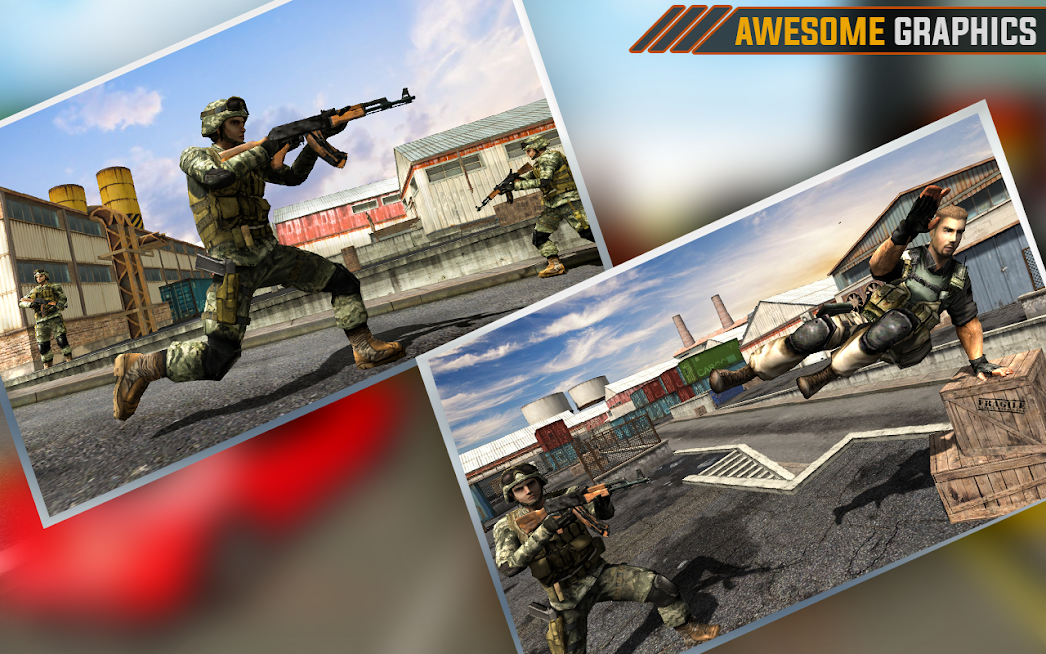 US Mission Ops Army Commando Counter Strike