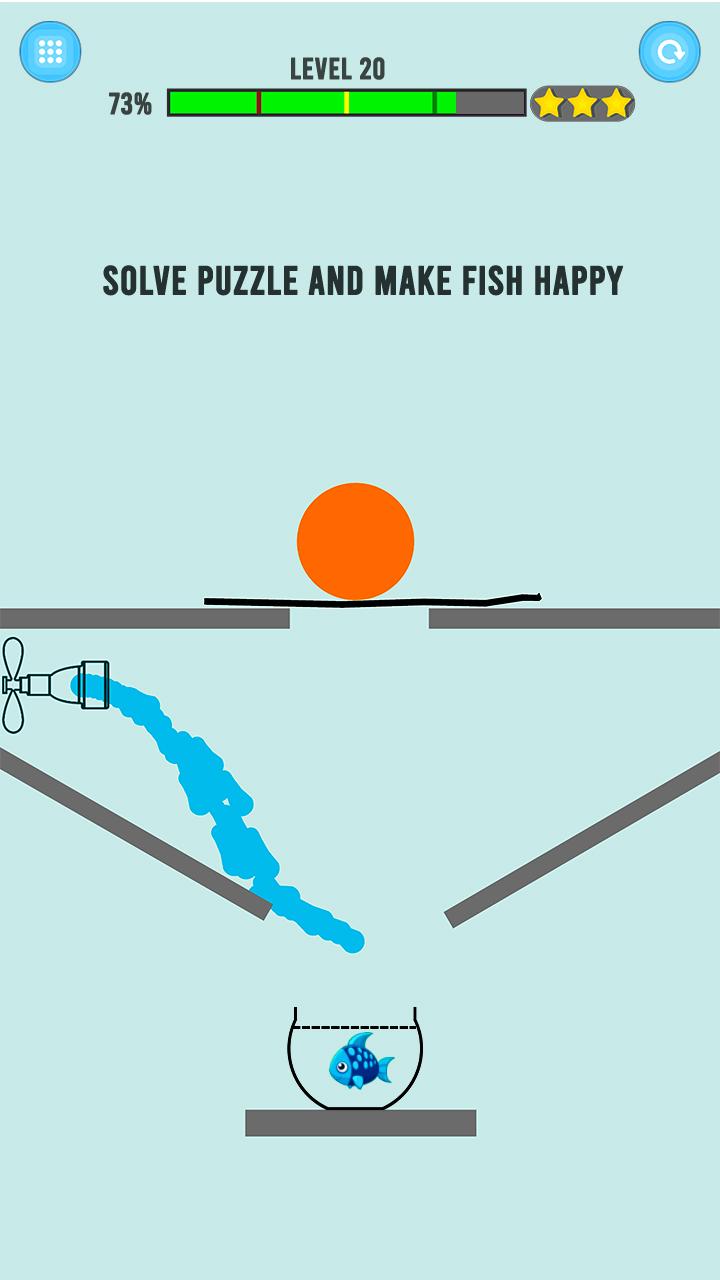 Happy Cute Fish - Water And Save Fish