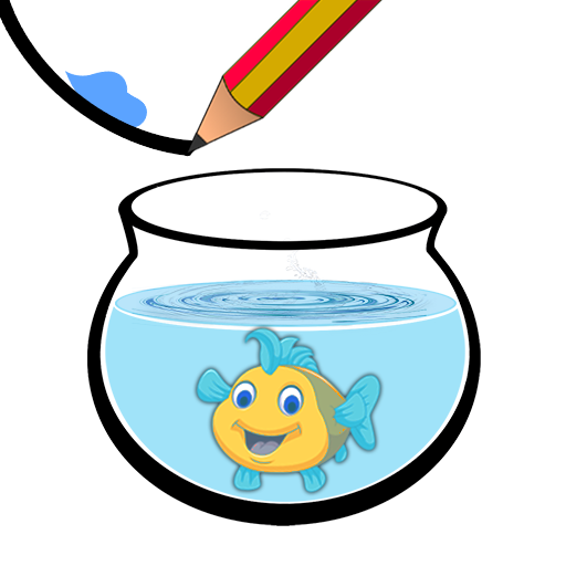 Happy Cute Fish - Water And Save Fish