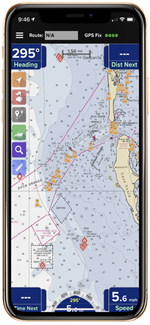 PRO CHARTS: Marine Navigation GPS Maps & Noaa Nautical Charts