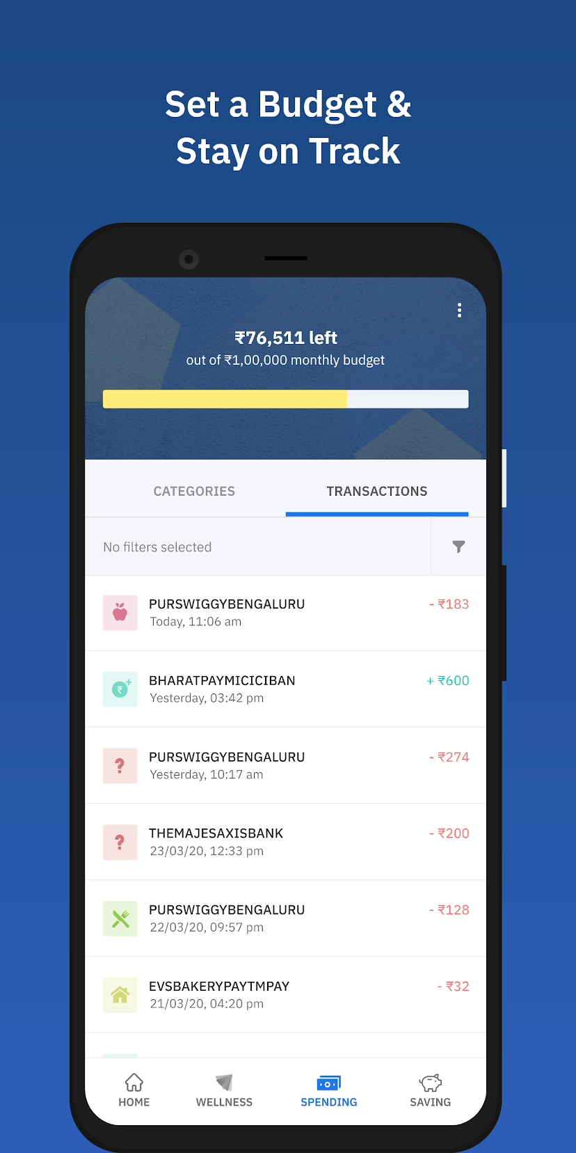 Wizely - Personal Finance management app