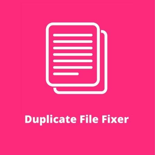 Duplicate File Remover, Duplicate File Fixer App