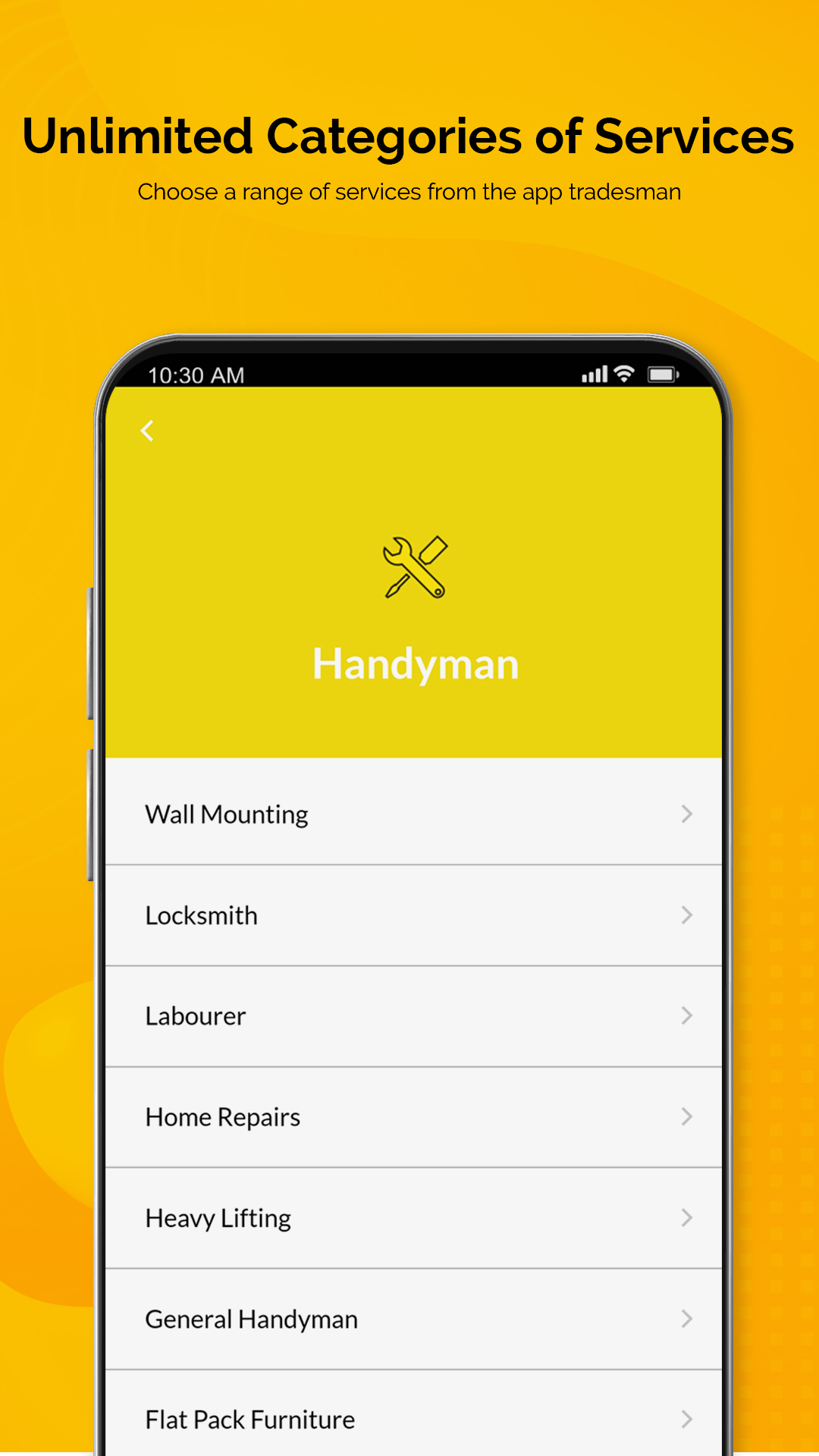 Handiman : Book local tradesman home services