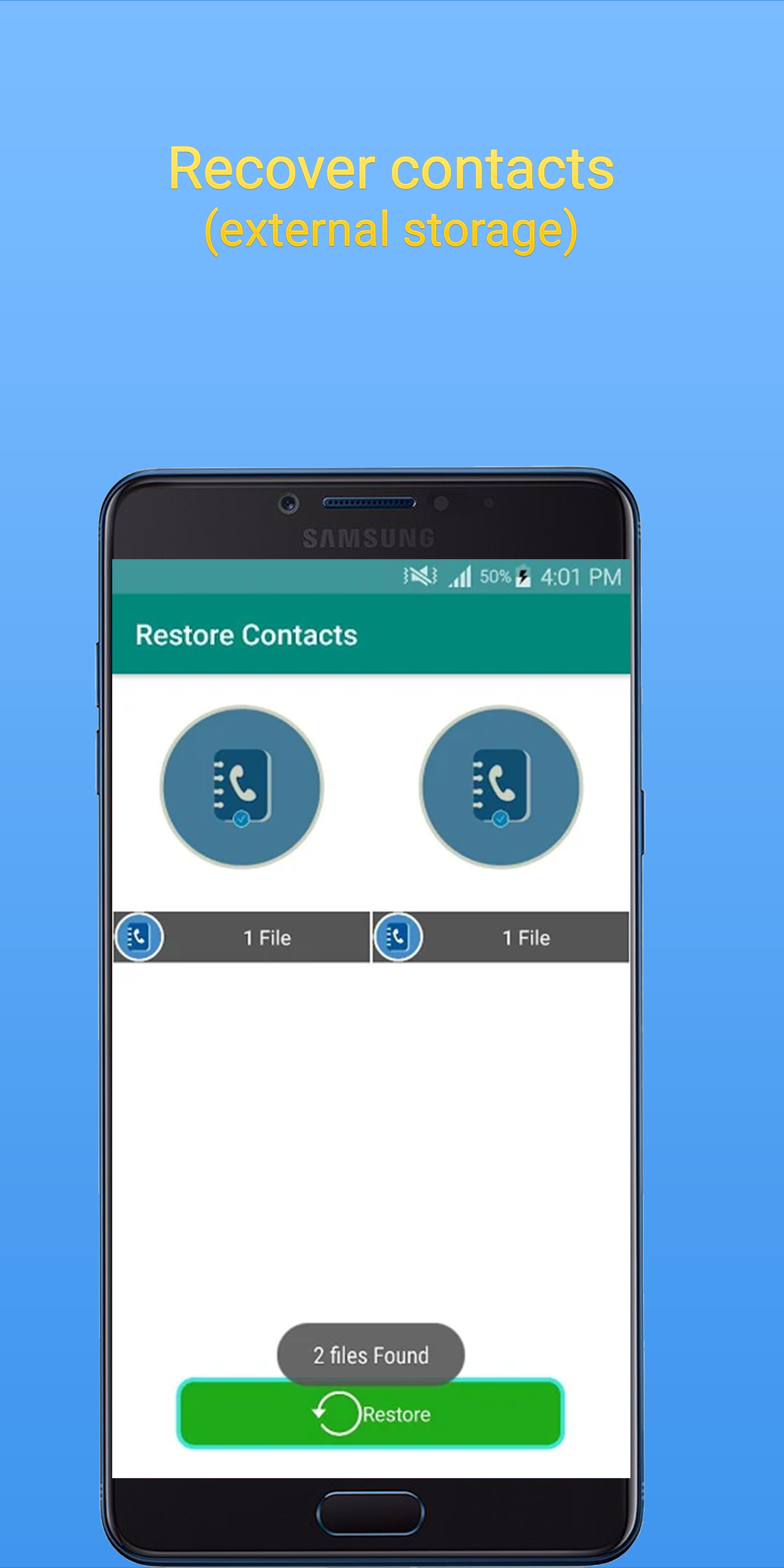 Recover Sim Contacts Details