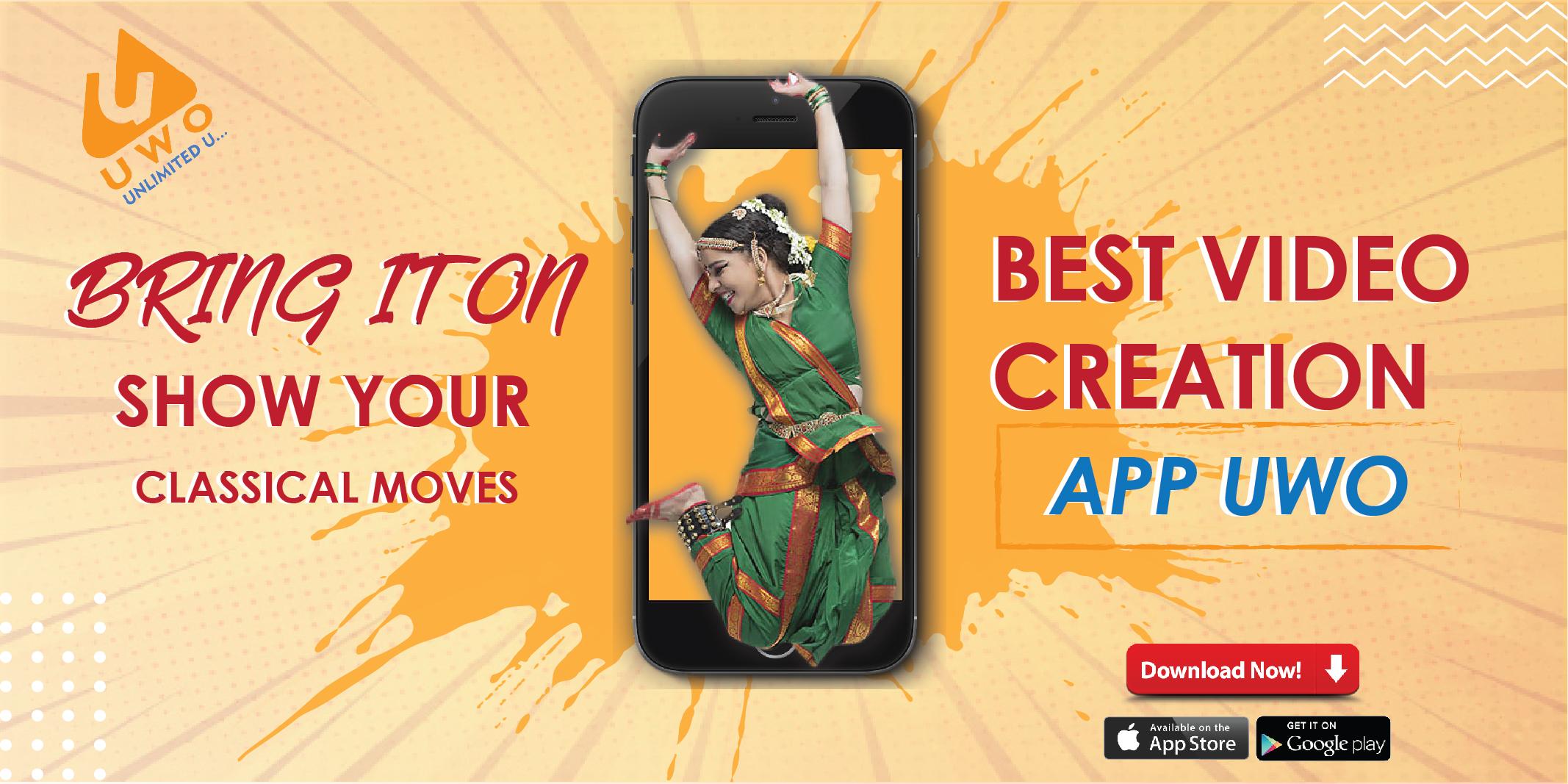 UWO   Made in India   Short Video App