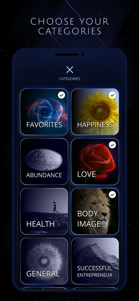 Grand Rising - Affirmation and Manifesting App