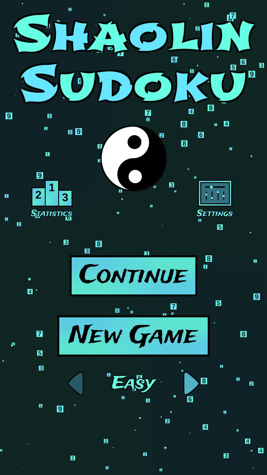 Shaolin Sudoku