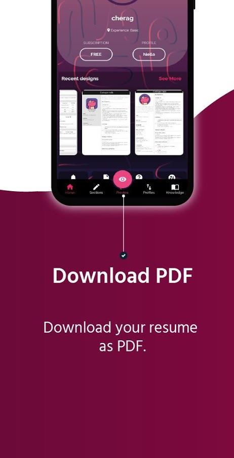 cvDragon - Next Gen Resume Builder