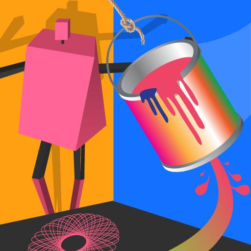 I Can Paint-Bucket Art