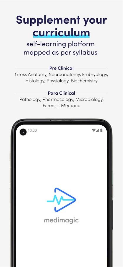 MediMagic - 3D Medical Video Learning App