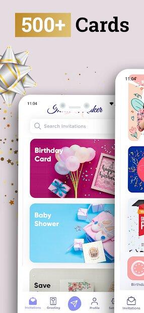 Invitation Maker - Invite & Greeting Card Creator