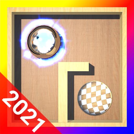 Puzzle ball maze 3d