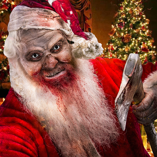 Scary Santa Claus Granny Horror game