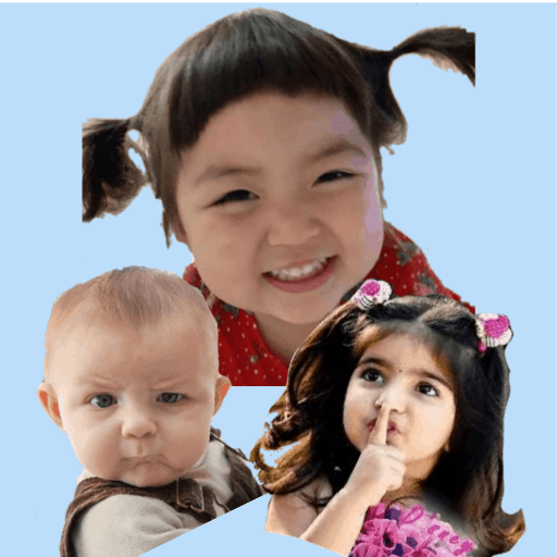 Cute Baby Stickers -Jin Miran WASticker Apps funny