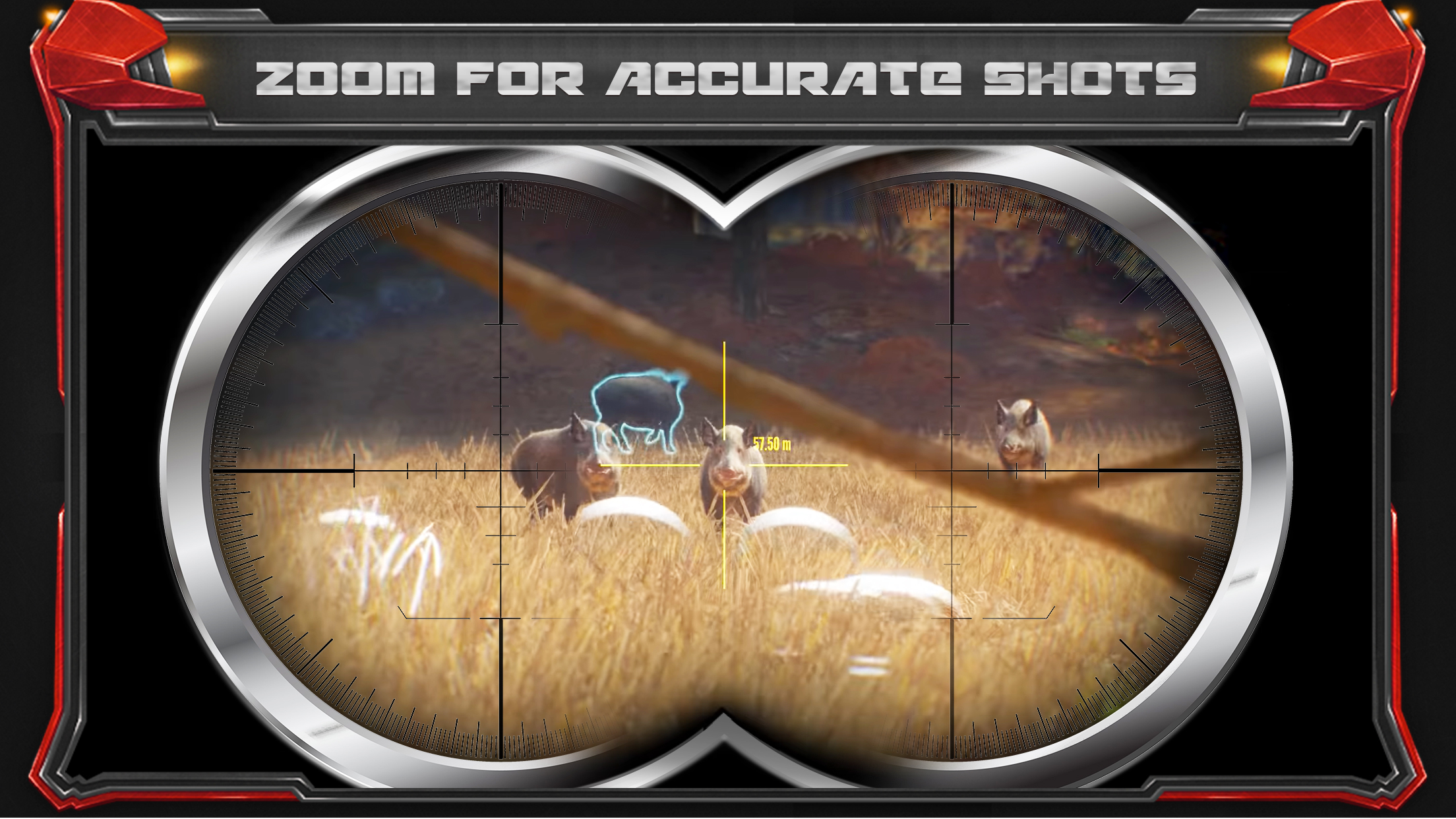 Wild Hunt - Pig Sniper Shooting