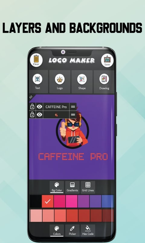 Logo Maker free - icon creator app for esports 3d
