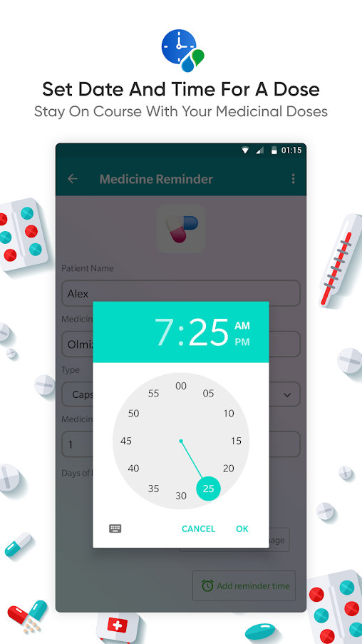 Medicine Reminder App