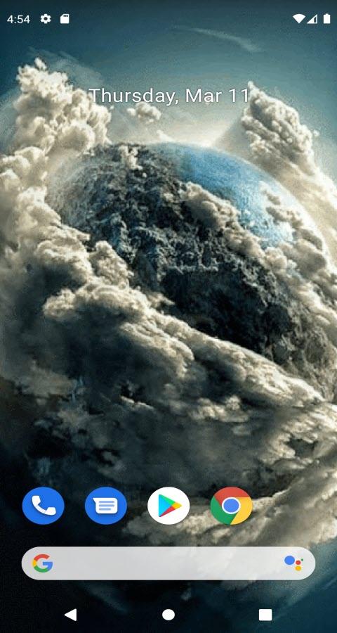 Tornado Cloud Live Wallpaper