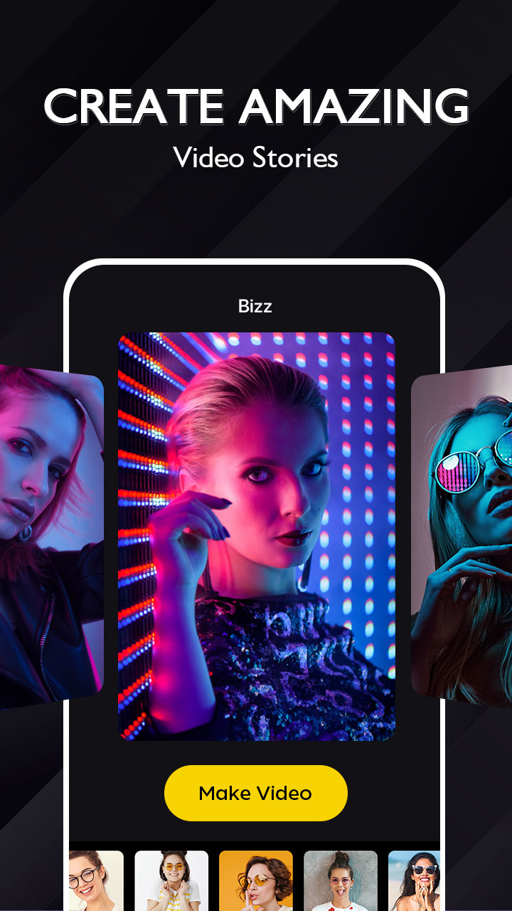 Bizz - Video Maker & Video Editor with Music