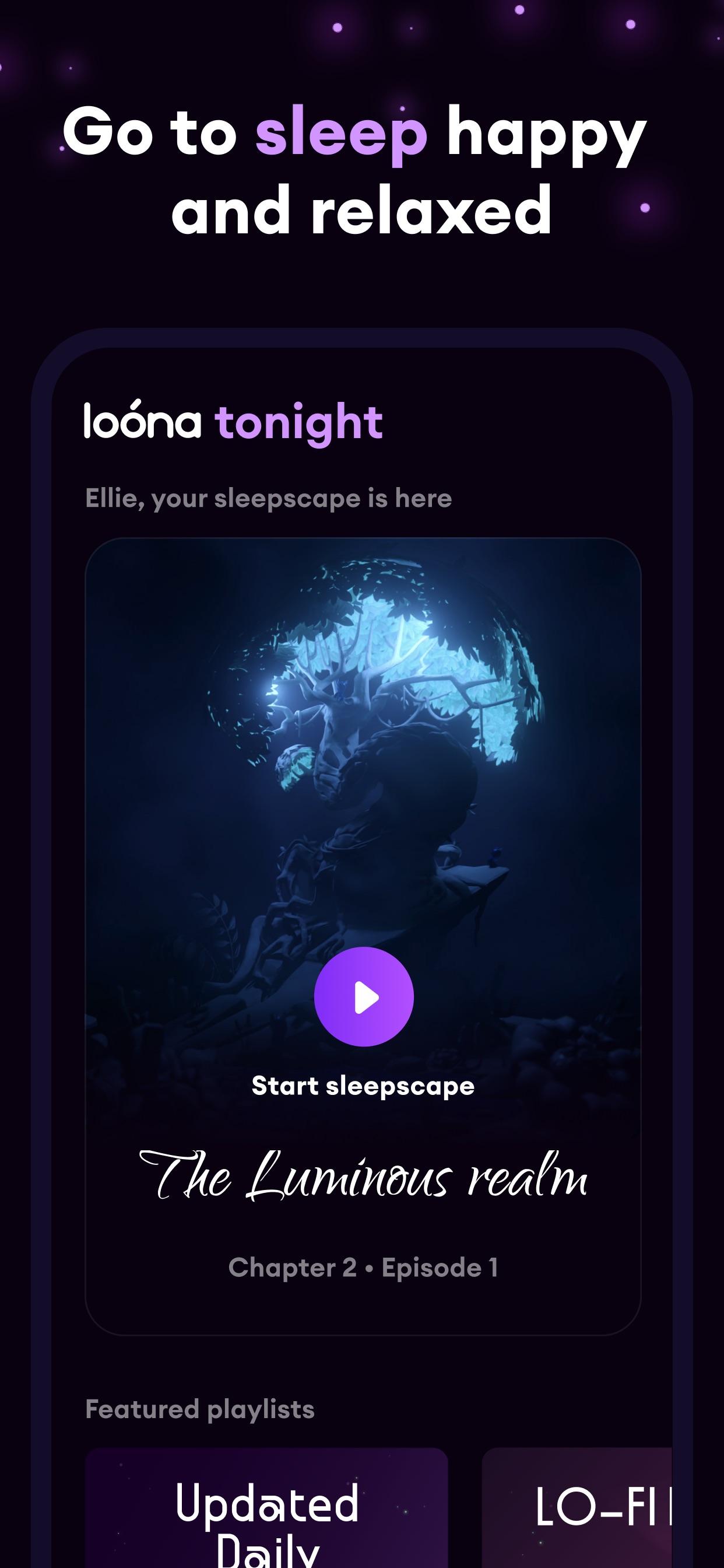 Loóna: Bedtime Calm & Relax