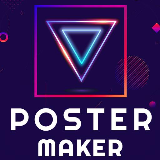 Poster Maker 2021 Flyer, Banner Ad graphic design