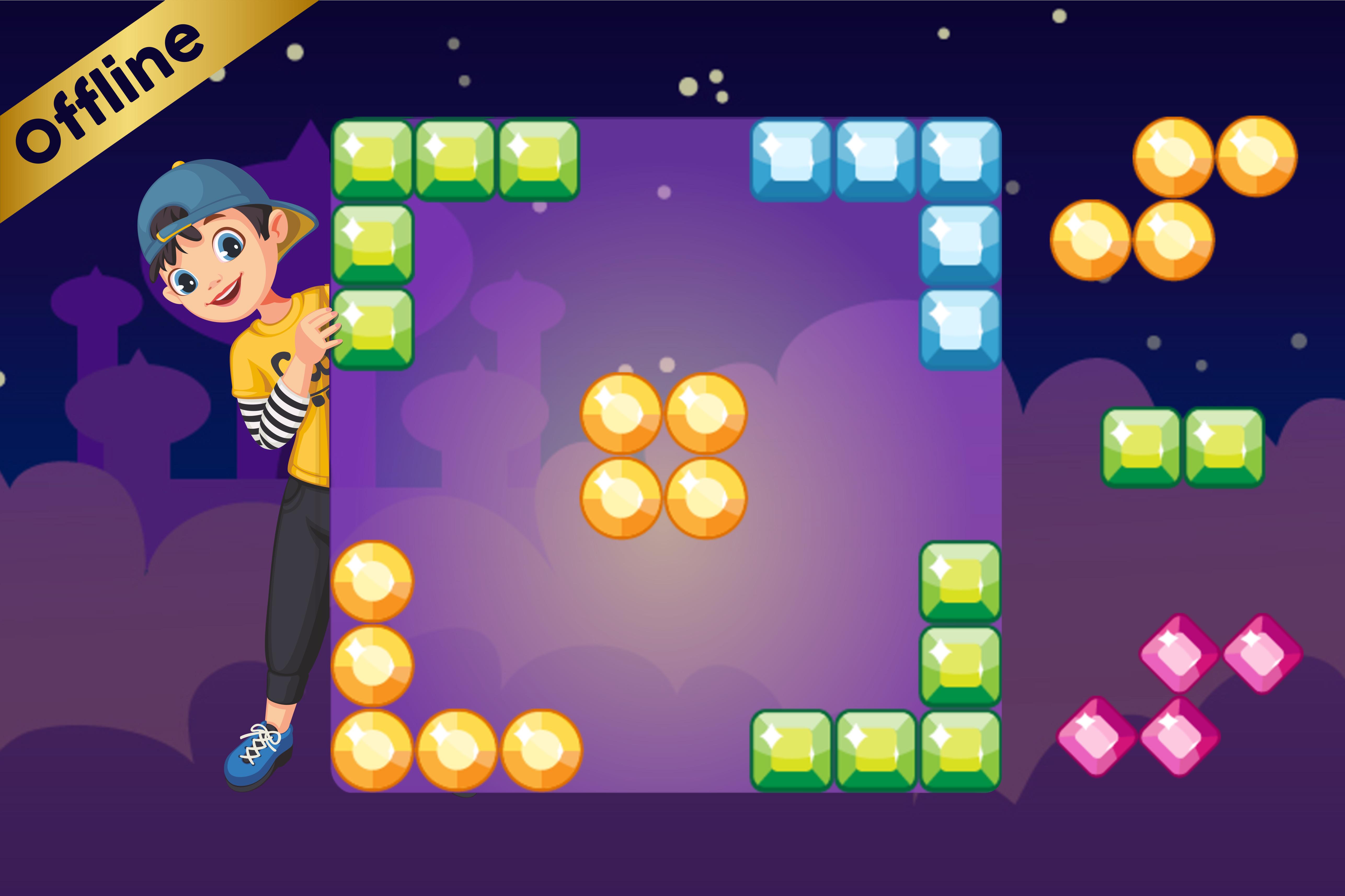 Block Puzzle Jewel Classic Blockpuz Blitz Games