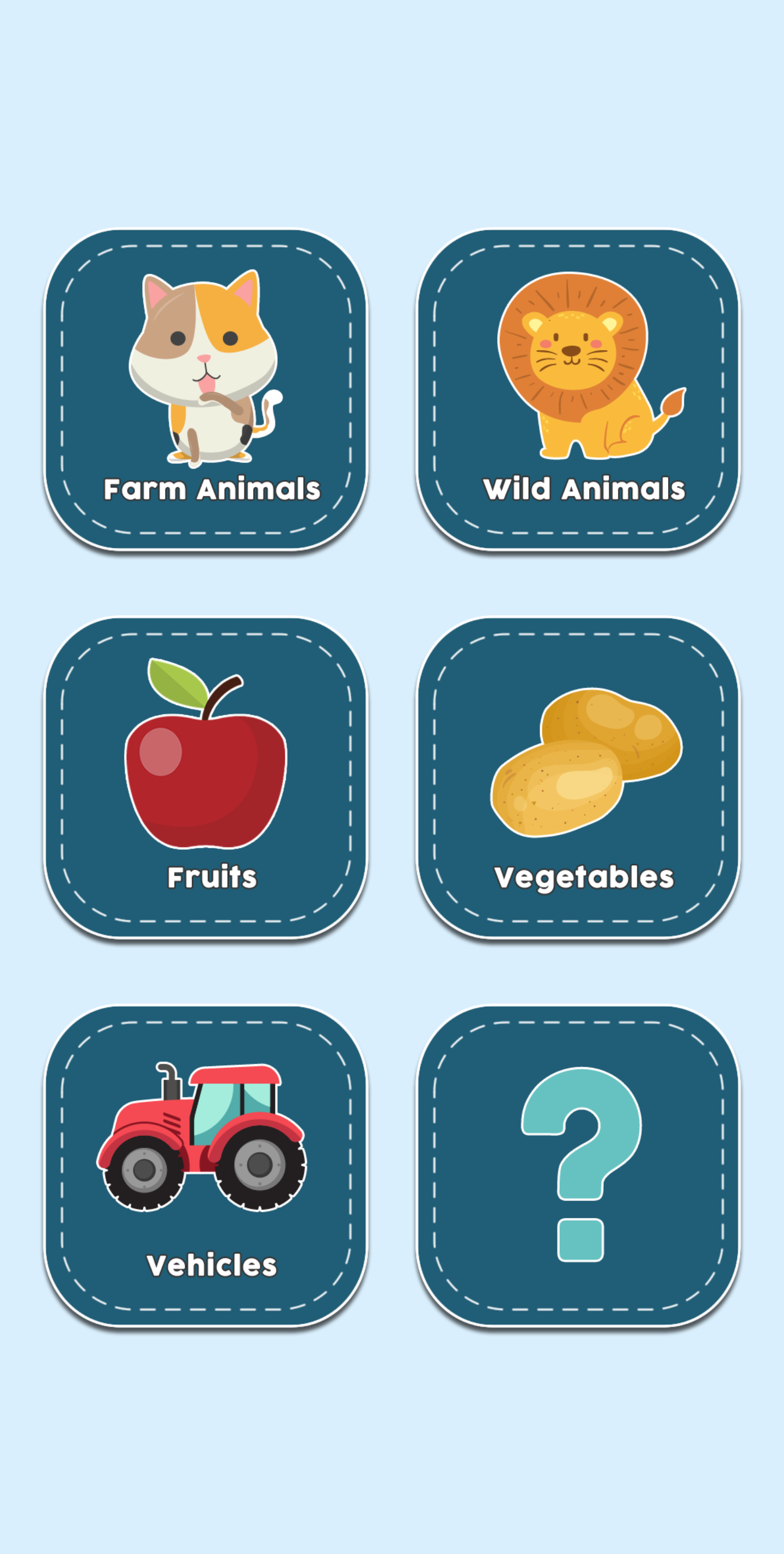 Flash Cards for Kids Learning