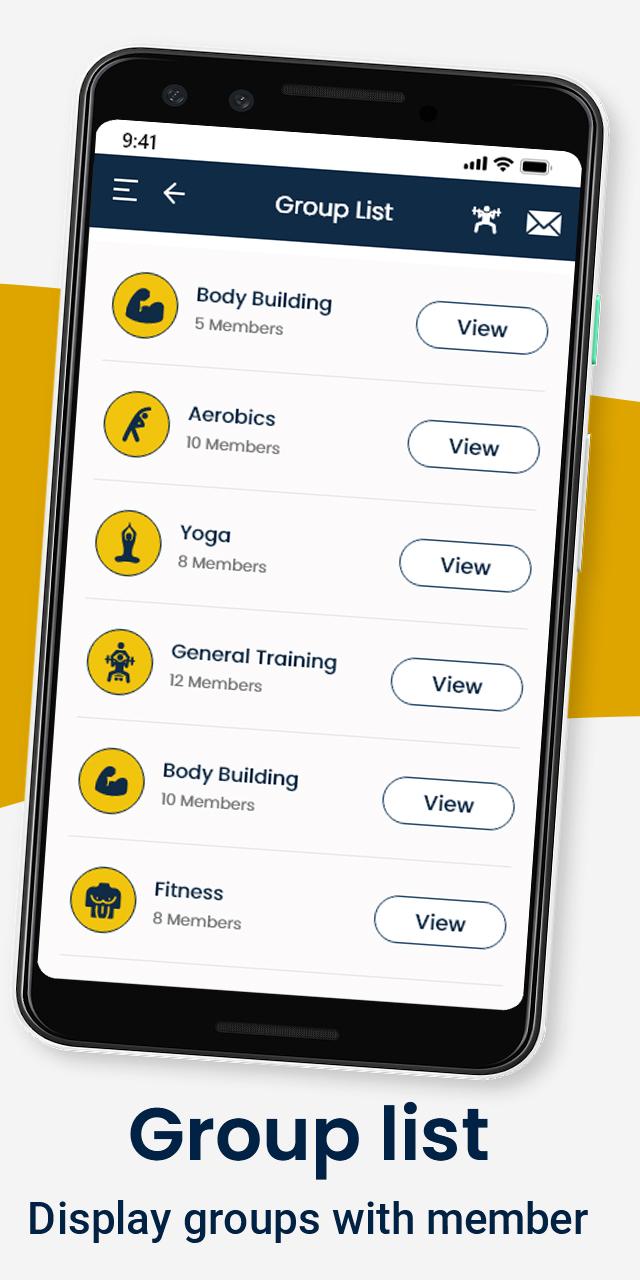 WPGYM App – Mobile App for Wordpress Gym System
