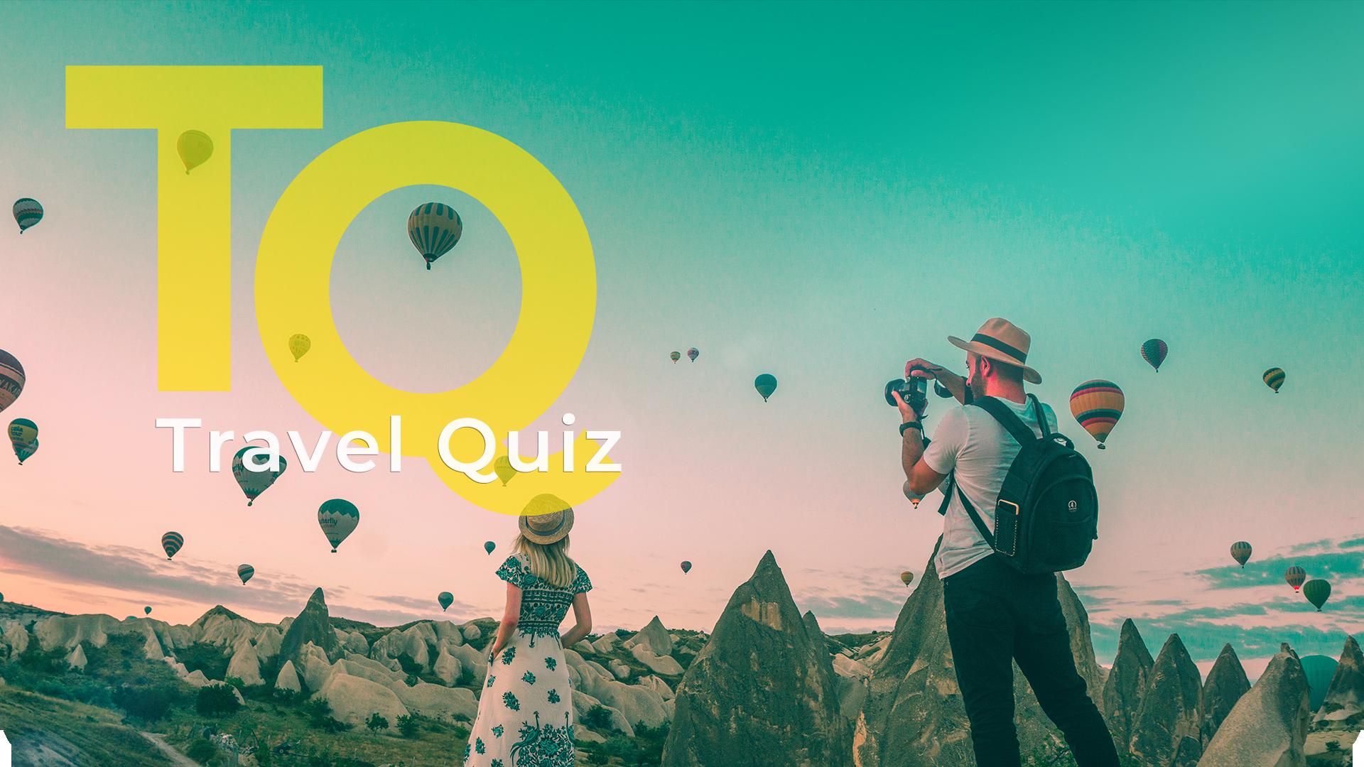 ⛱ Travel Quiz